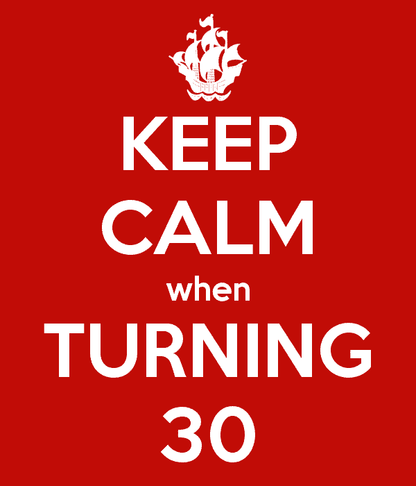 Turning 30 And The 30 Amazing Things I've Learned About Life