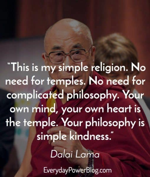 best dalai lama quotes about religion