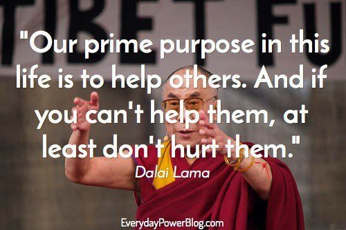 50 Dalai Lama Quotes On Life, Love & Compassion (2019)