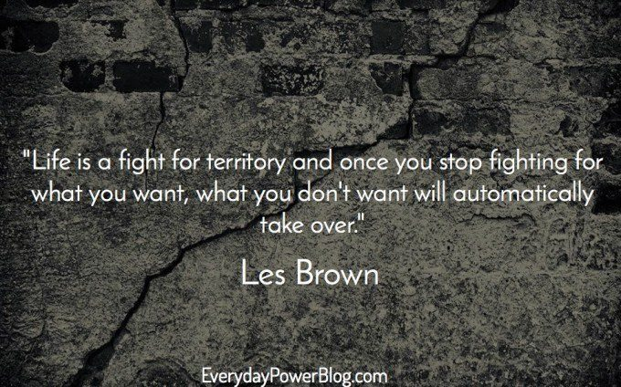 Les Brown quotes about being hungry