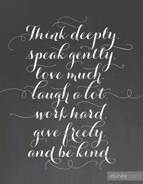 Inspirational Phrases