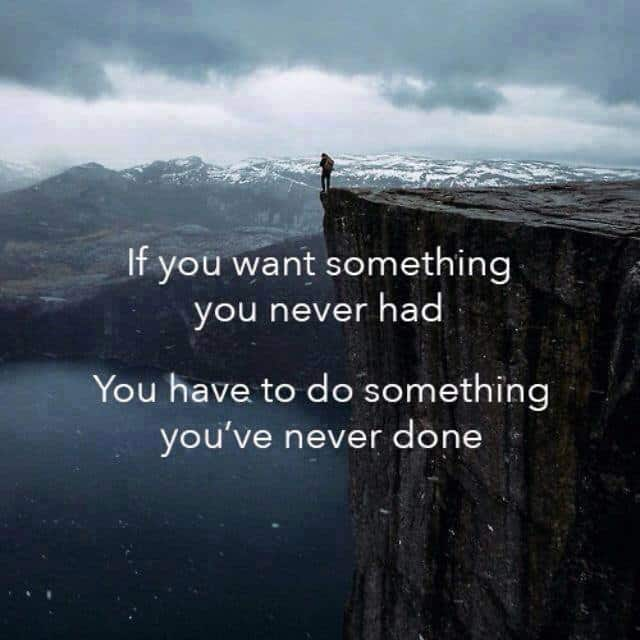 Inspiring Picture Quotes if u want something u nevr had