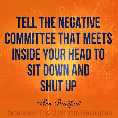 Inspiring Picture Quotes negative committee to shut up