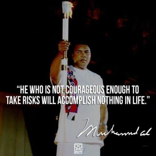 Muhammad Ali quotes about being a champion