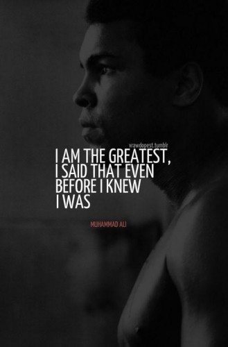 Muhammad Ali quotes about life