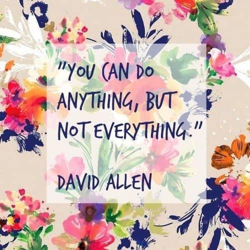 David Allen quotes