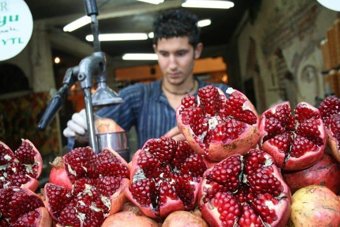 best brain food like pomegranate juice is great food for your brain