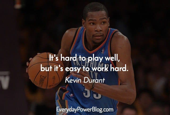 25 Best Kevin Durant Quotes About Success (2019)