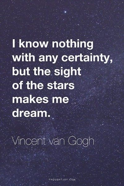 Vincent Van Gogh Quotes 1