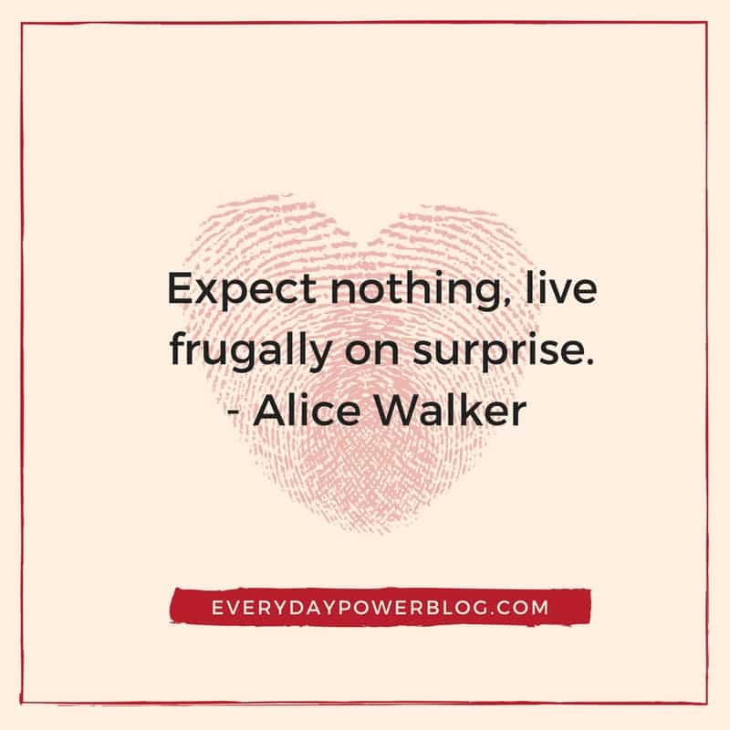 alice walker quotes about surpirses