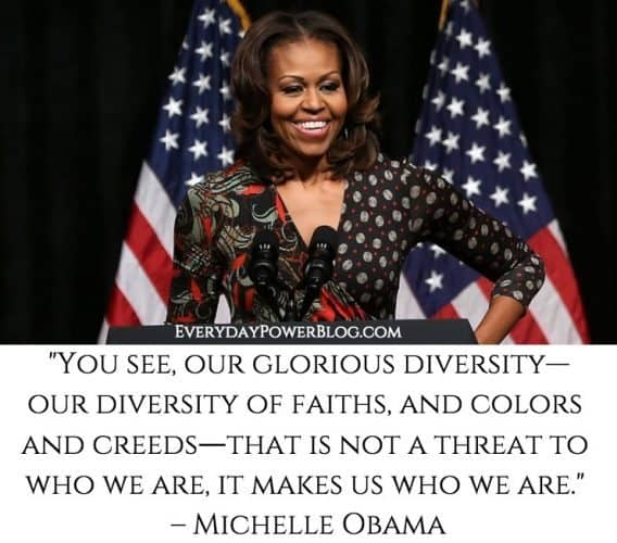 Michelle Obama quotes about being a woman