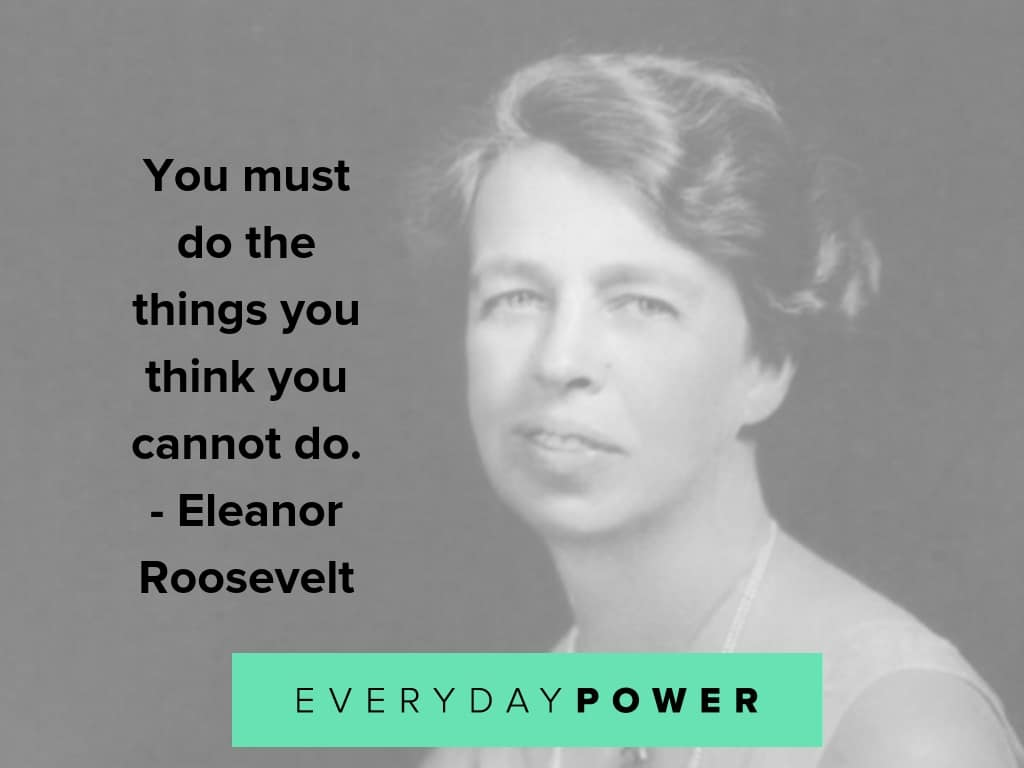 eleanor roosevelt quotes on taking action