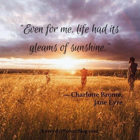 quotes on depression sunshine