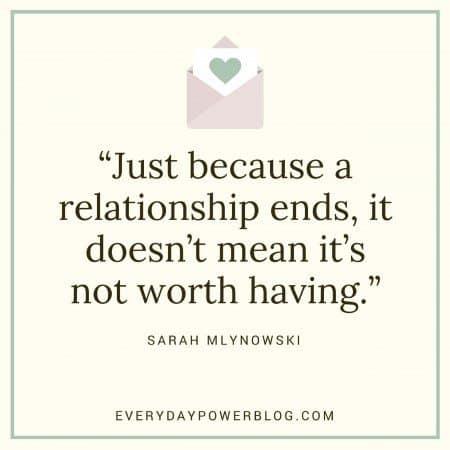 break-up quotes not worth it