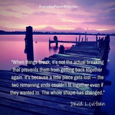 break-up quotes shape