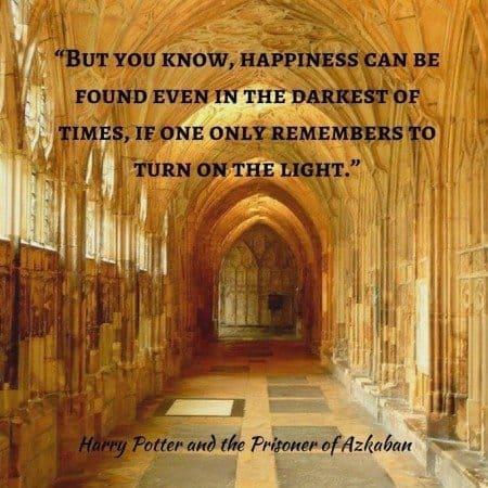 harry potter quotes turn on the light