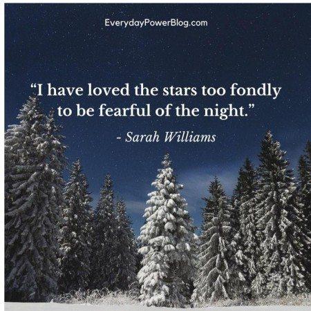 good night quotes stars