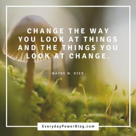 quotes on change and the way you look at things