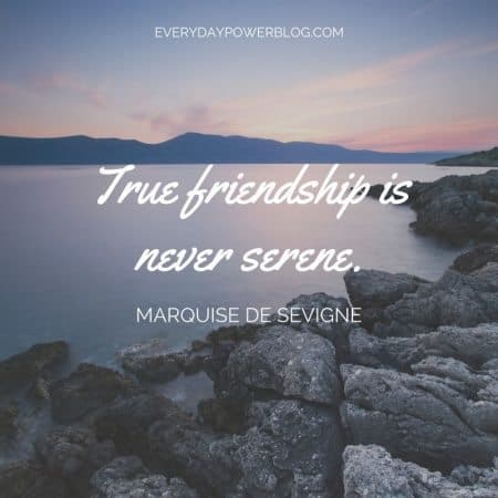 friendship quotes on the power of real friends