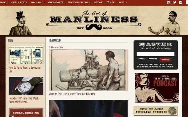 best blogs for men
