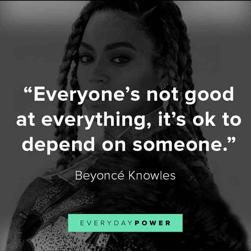 Inspirational Beyoncé quotes on love and life