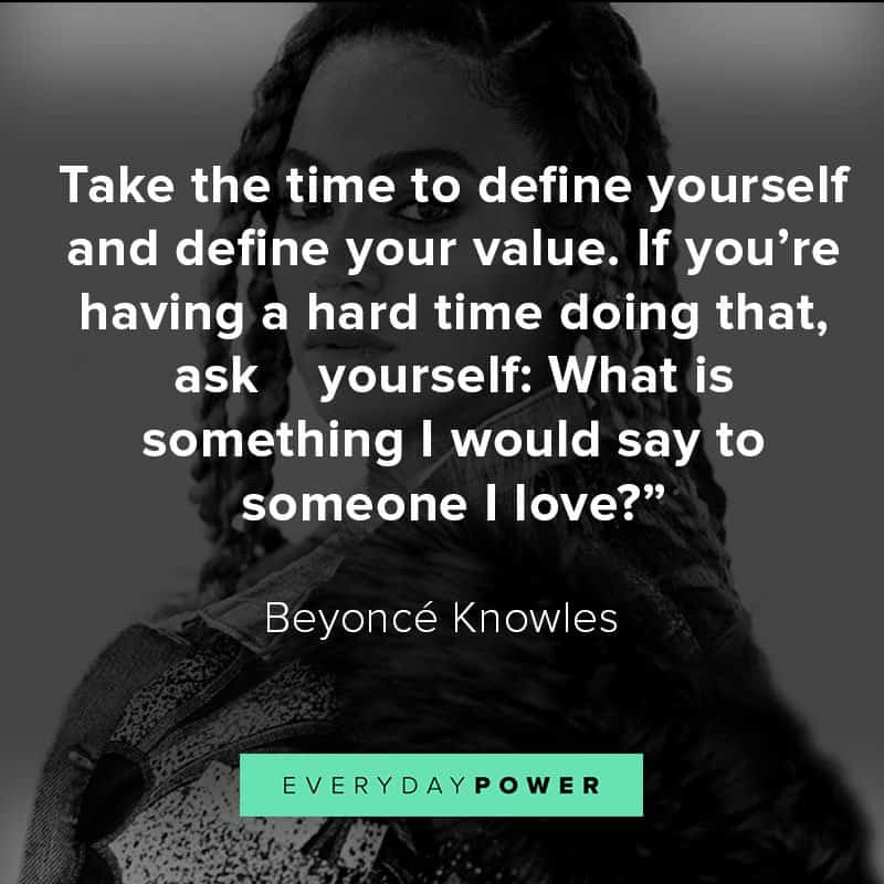Empowering Beyoncé quotes about success and knowing your worth