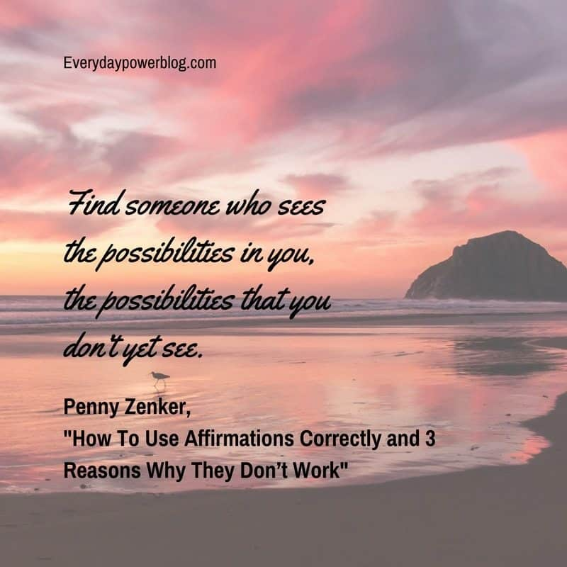 How To Use Affirmations Correctly