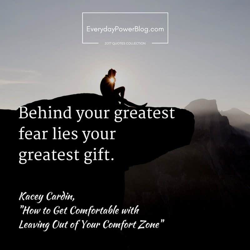 Get Comfortable with Leaving Out of Your Comfort Zone