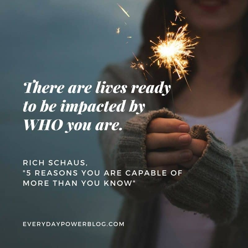 Reasons You Are Capable of More Than You Know