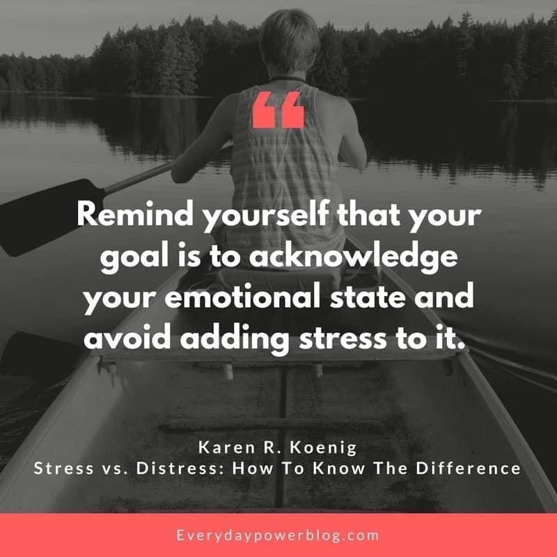 Stress vs. Distress