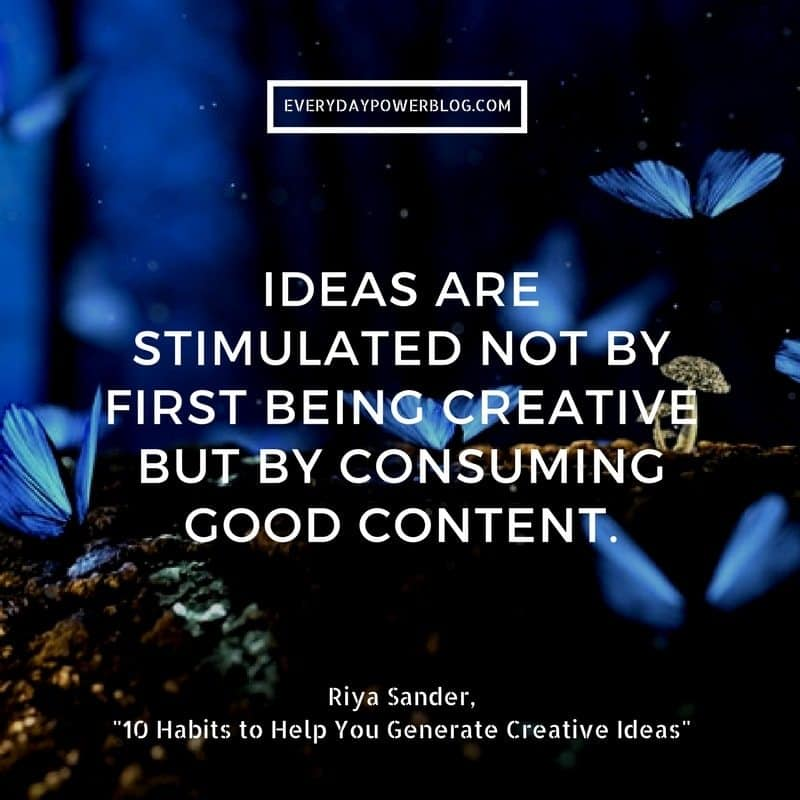 Generate Creative Ideas