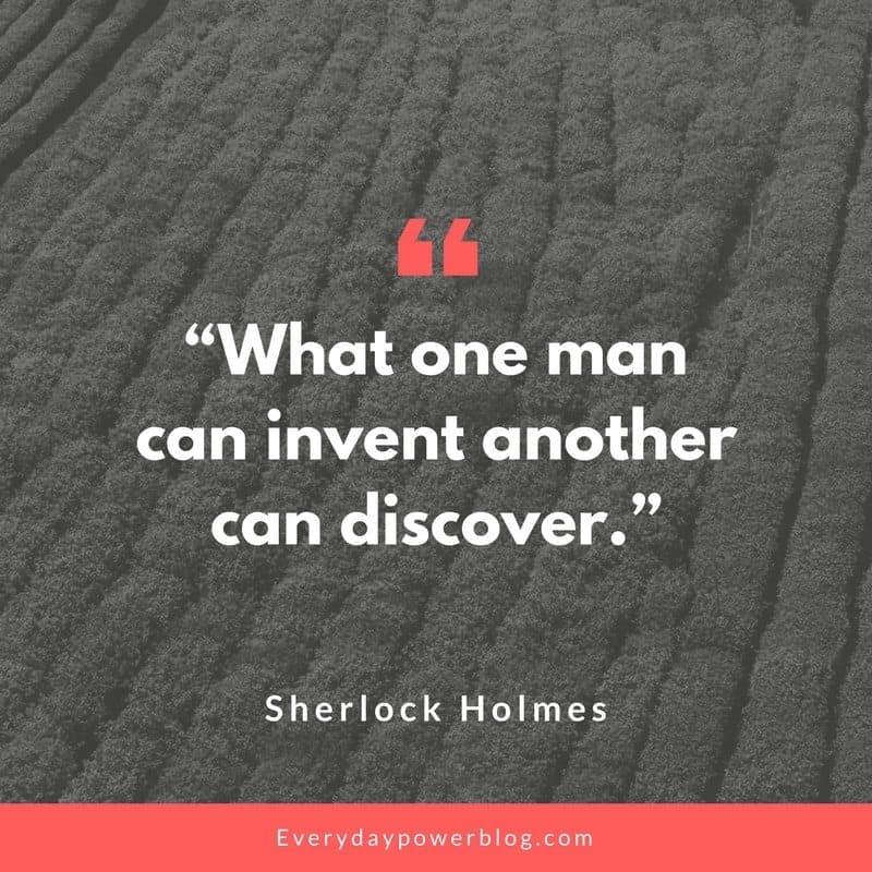 Sherlock Holmes quotes