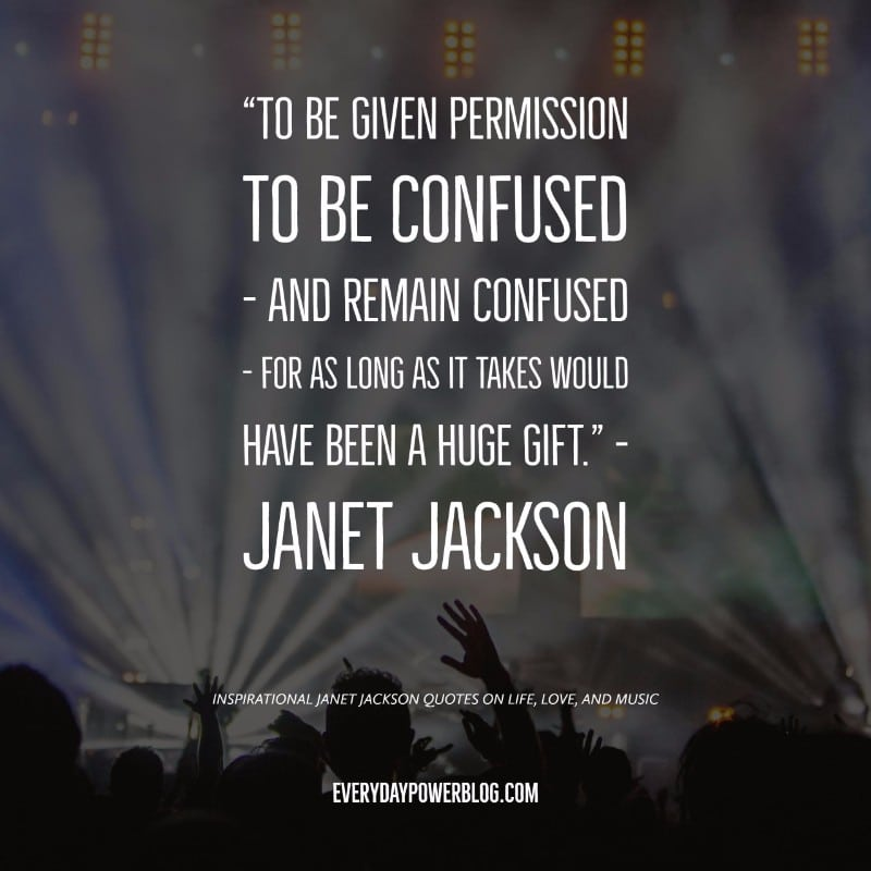 30 Janet Jackson Quotes on Life, Love, and Music (2019)