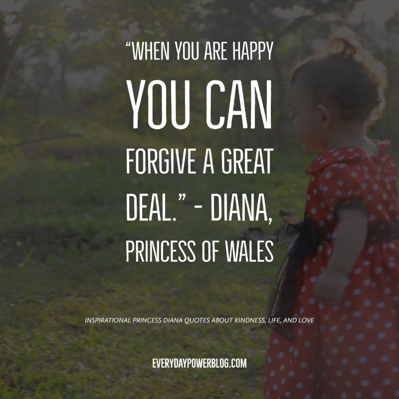 50 Princess Diana Quotes On Kindness Life Love 2020