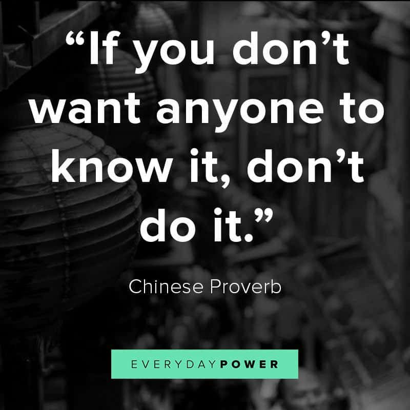75 Chinese Proverbs, Sayings & Quotes on Life and Family (2019)