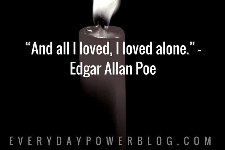 50 Edgar Allan Poe Quotes on Life & Happiness (2019)