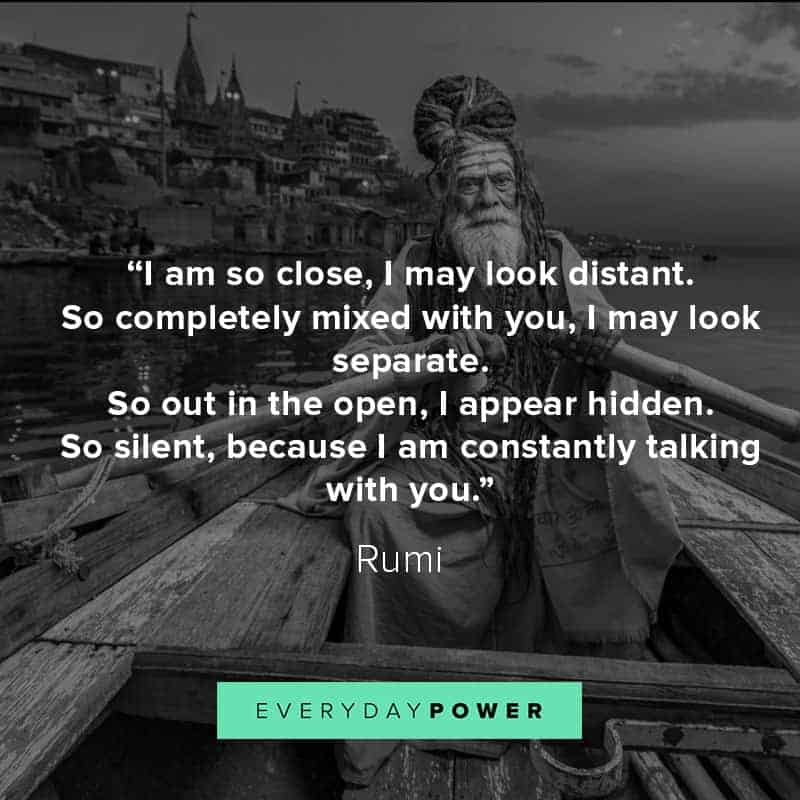 Rumi quotes about life and love
