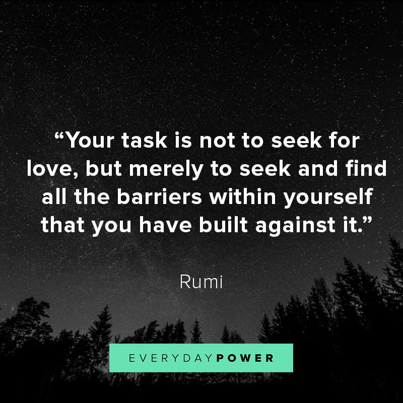 Rumi Quotes on love and relationships