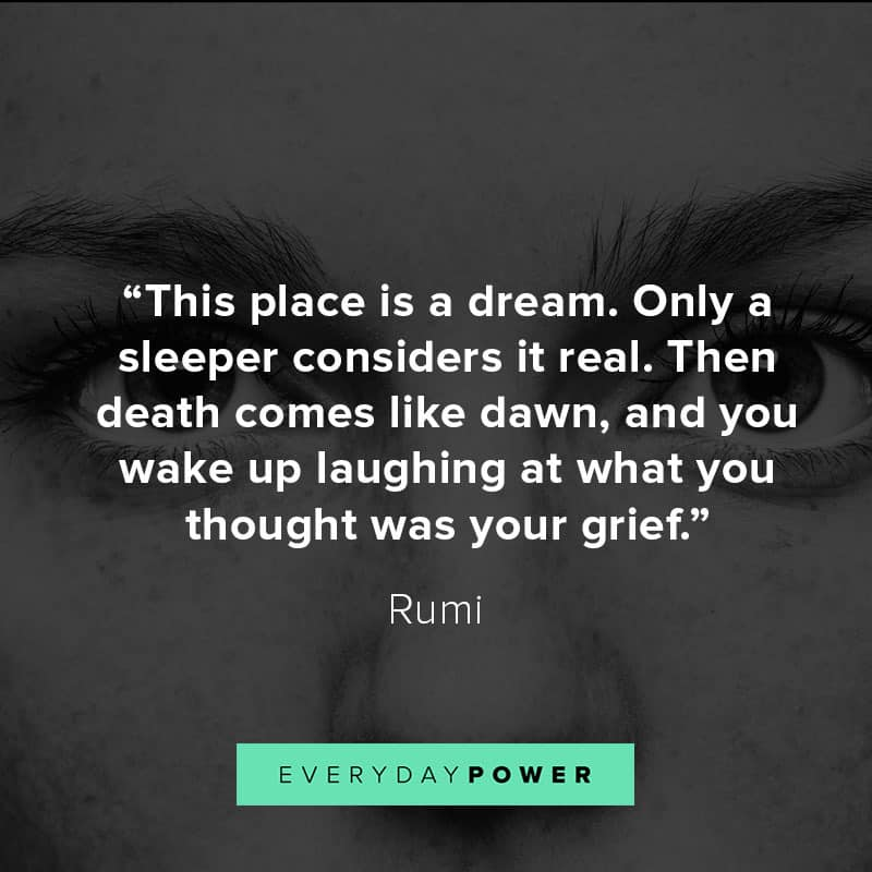 best Rumi quotes about dreams