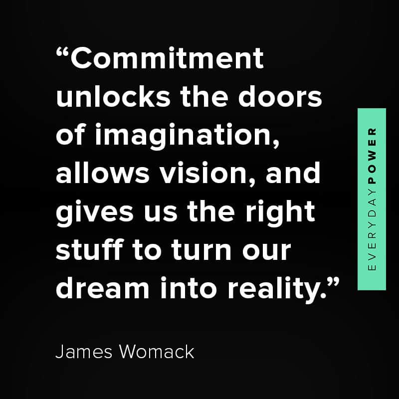 Commitment quotes about vision and ideas