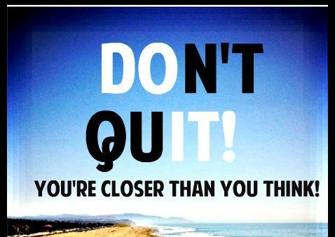 don't quit ever everyday power