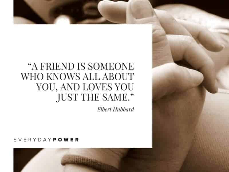 Best Friend Quotes about life a friend is someone who knows all about you
