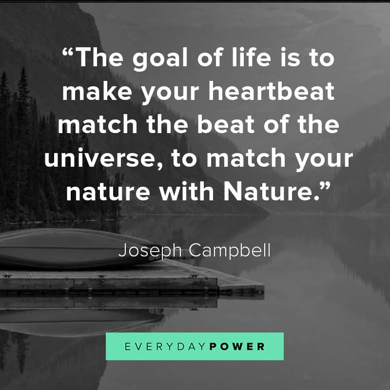 Moving nature quotes and sayings