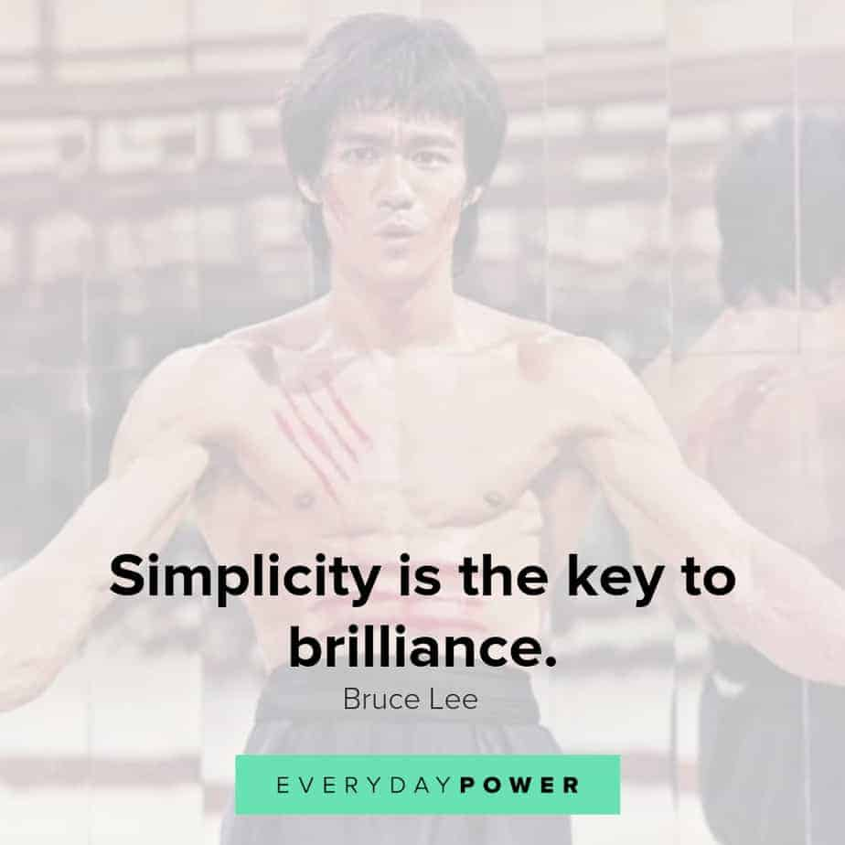 bruce lee quotes about brilliance