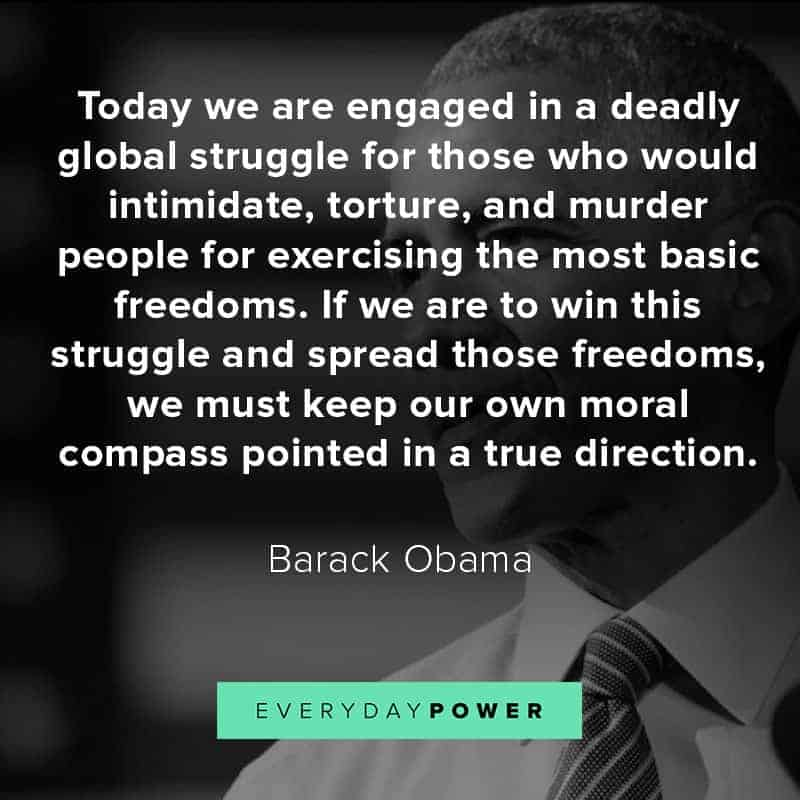 president Obama quotes on leadership