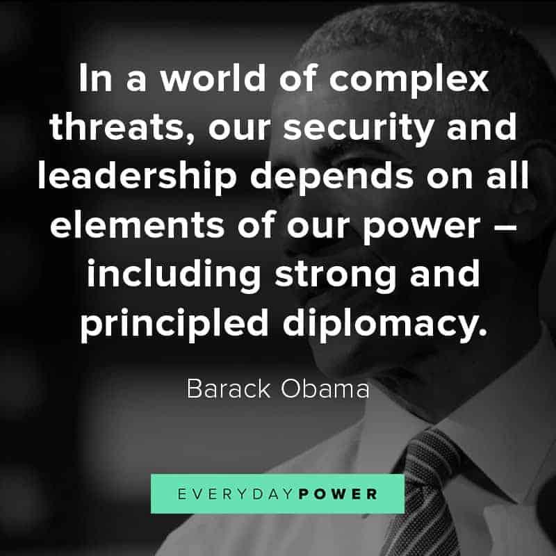 Inspiring Barack Obama quotes on life