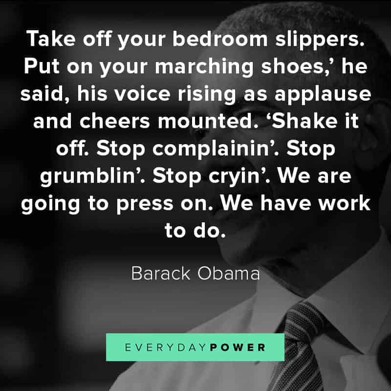 Barack Obama quotes on leadership