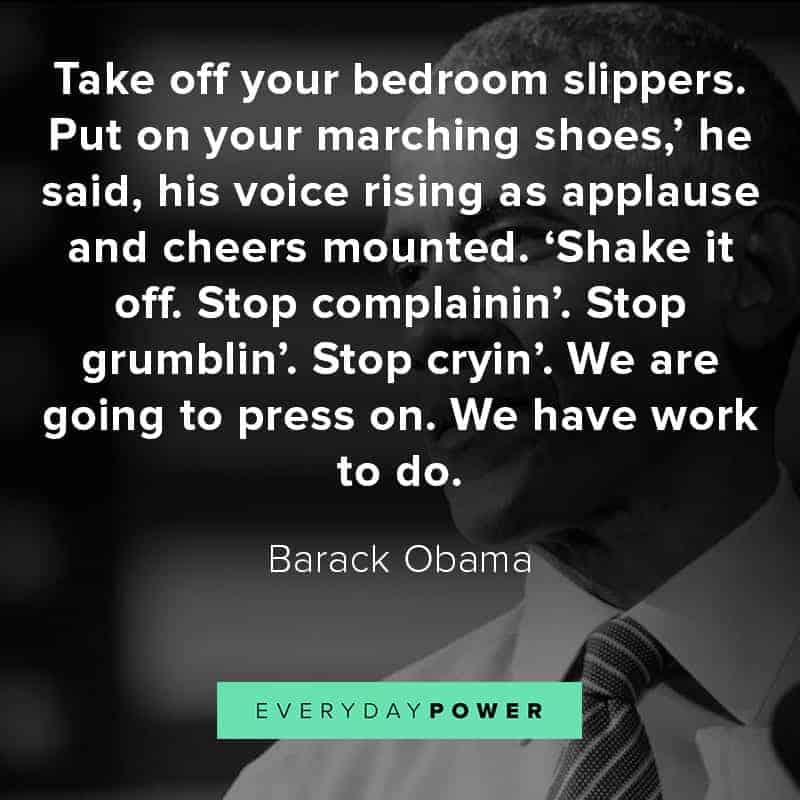 Barack Obama quotes on leadership