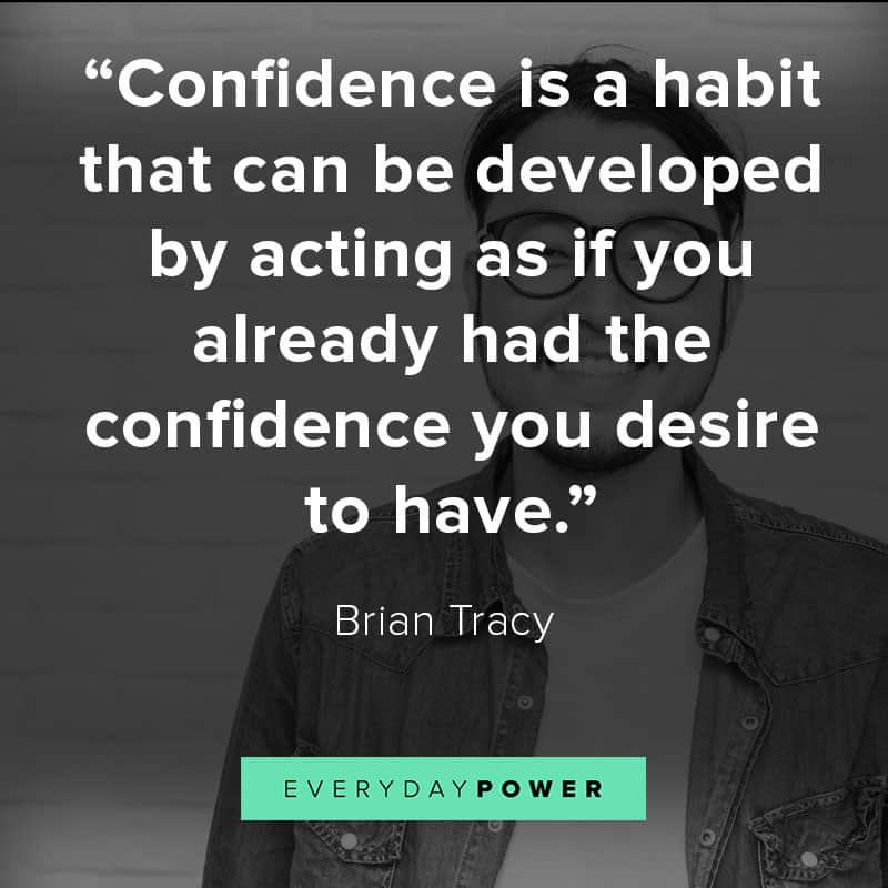 Inspirational self esteem quotes about building your confidence