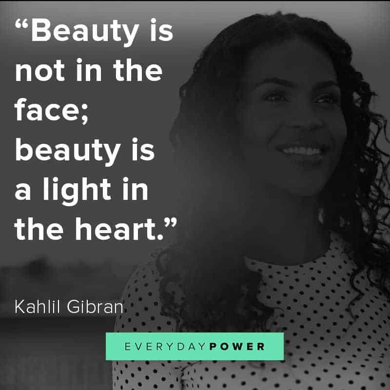Heart Touching Quotes about beauty